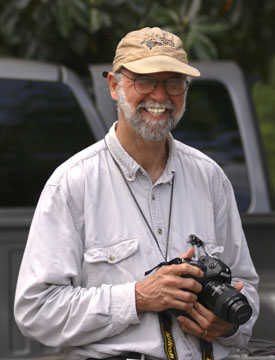 Gil Nelson, noted nature author and photographer.